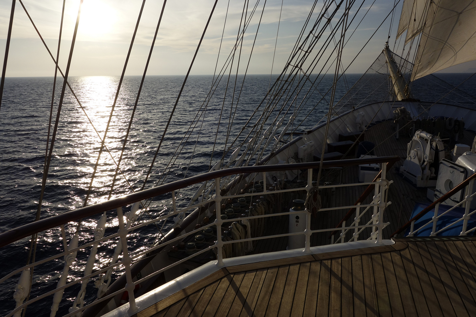 "SPV ""Royal Clipper"" auf See"