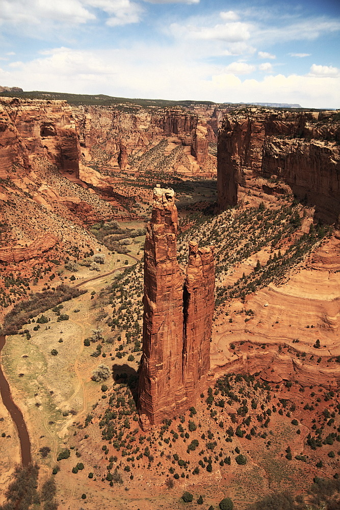 Spyder Rock im Canyon de Chelly