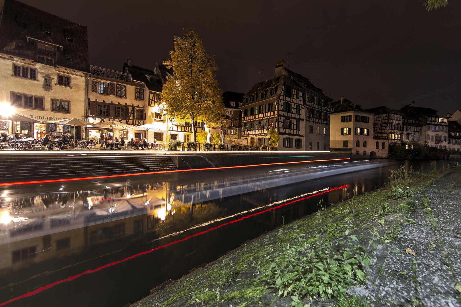 Sraßburg an einem lauen Oktoberabend 2013