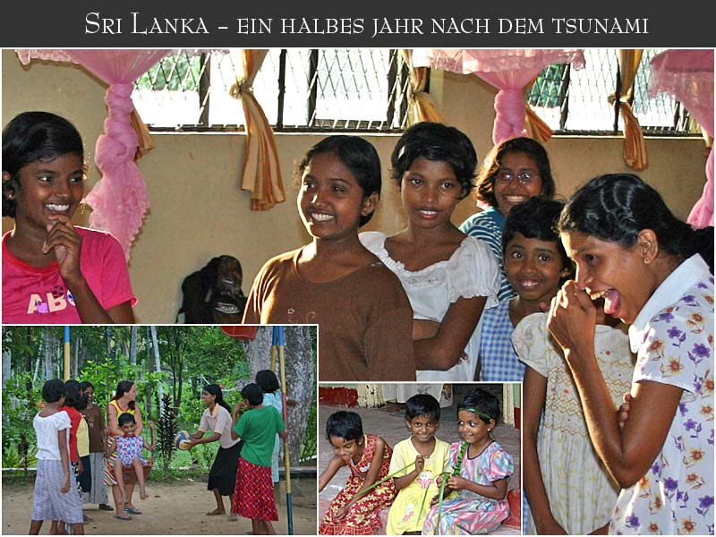 Sri Lanka - lachende Kinder