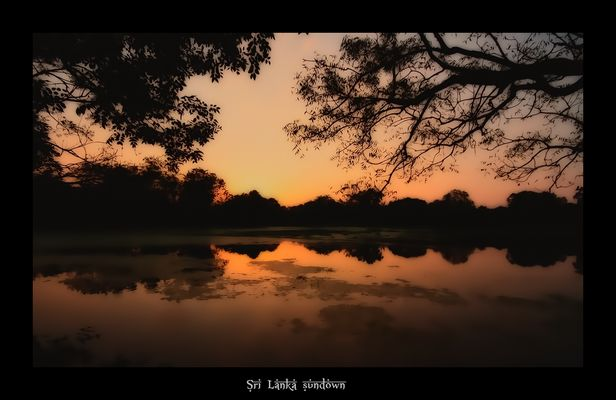 Sri Lanka, Sonnenuntergang