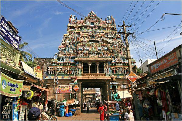Srirangam 2. Gopuram