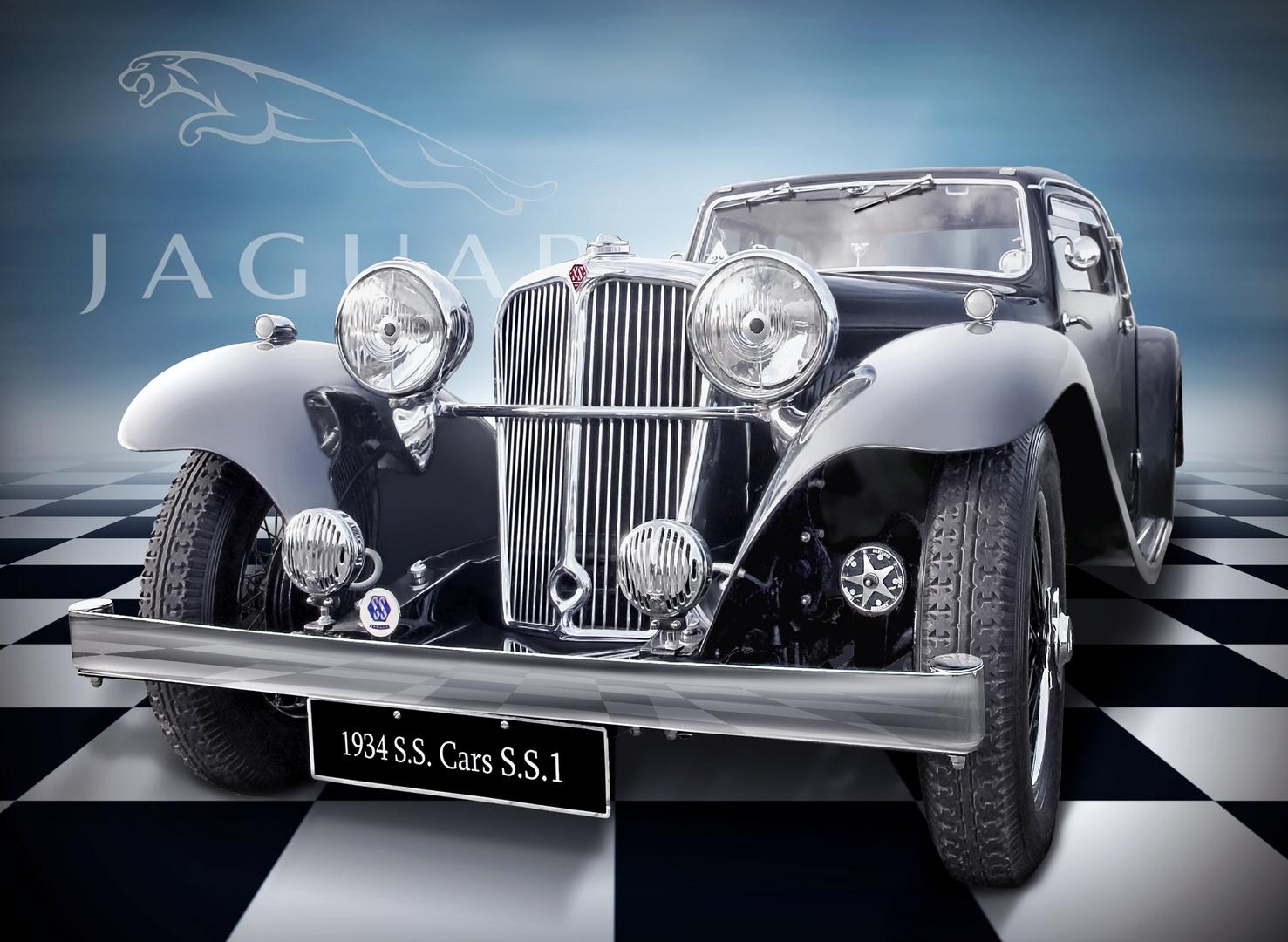 S.S. Cars Ltd SS1 ( ab 1945 Jaguar)