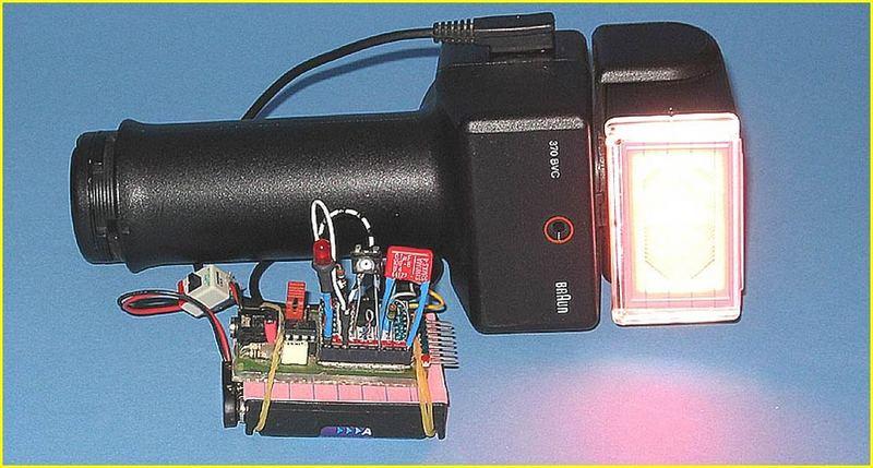 SSB-sensor mit vor-blitz-unterdrückung