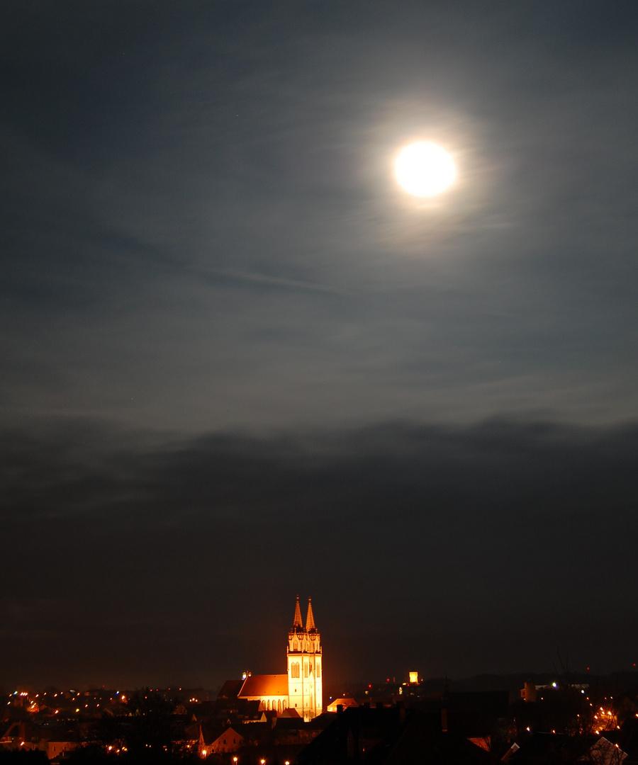 St. Aegidien bei Mondschein