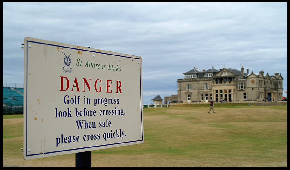 "St. Andrews ""Old Course"" / Schottland"