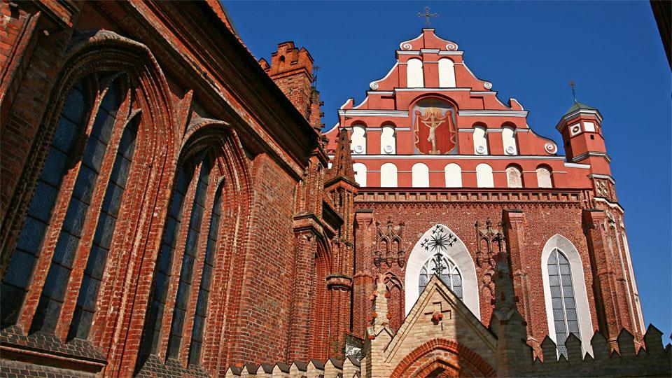 St. Anne's and The Bernadine Churches, Vilnius / LT