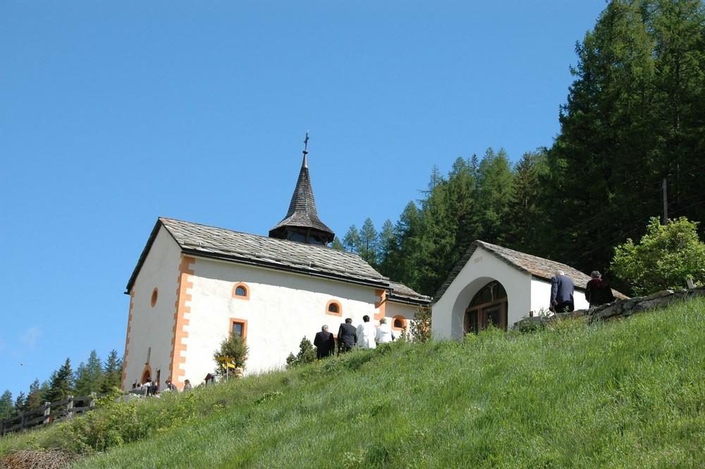 St. Antoniuskapelle in Saas-Grund