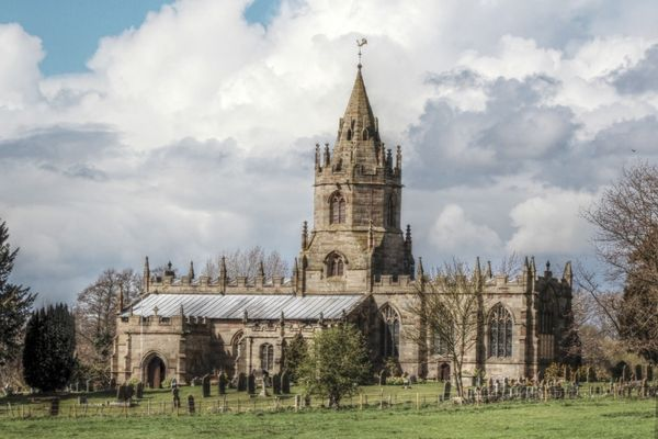 St Bartholomew's church, Tong, Shropshire