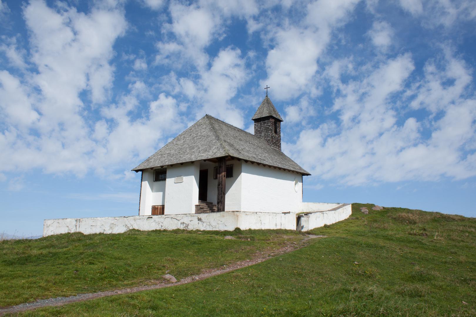 St. Bernhard Kapelle, Hahnenkamm, Kitzbühel, Tirol