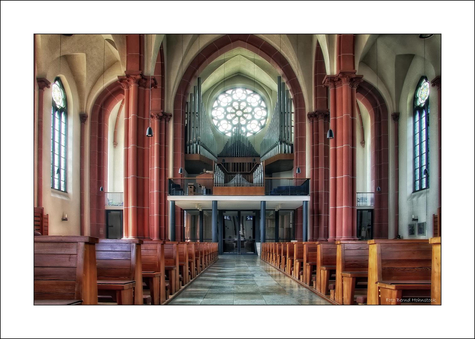 St. Clemens Solingen Orgel ..