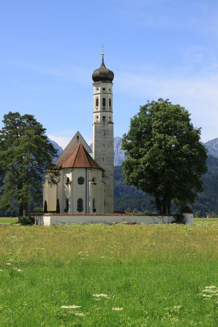 St. Coloman bei Schwangau - Bayern, Schwaben