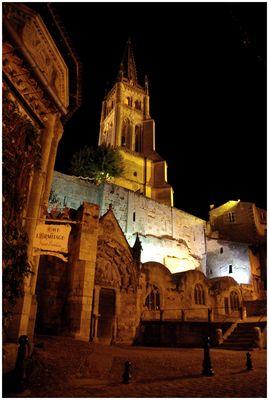 St Emilion la nuit !