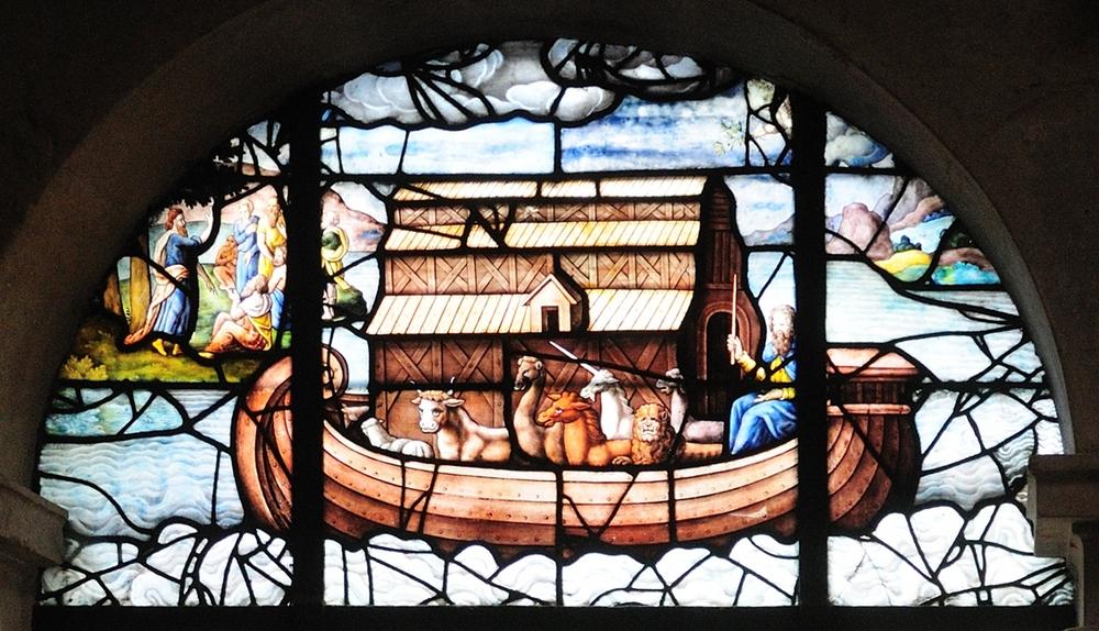 St. Etienne du Mont ; Arche Noah mit Einhorn