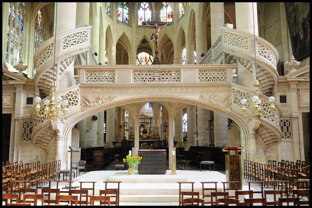 St. Etienne du Mont; der Lettner