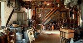 St Falgan - une vue de l'atelier d'autrefois de Elvina Benoist