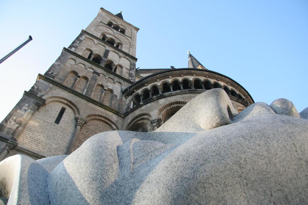St. Florentius vor dem Münster