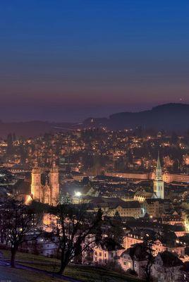 St. Gallen by Night
