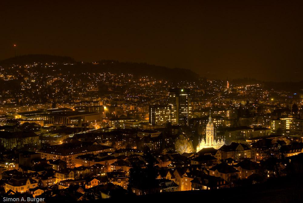 St. Gallen by Night 2