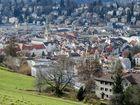 """St. Gallen, die Stadt """"Im Grünen Ring"""""""