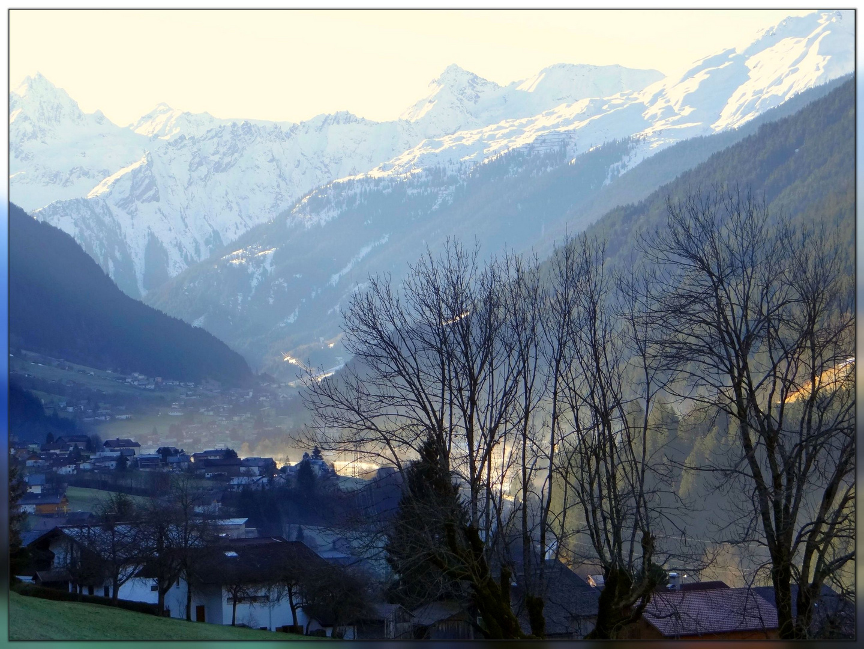 St. Gallenkirch am frühen Morgen