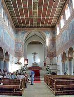 St. Georg; das Kirchenschiff
