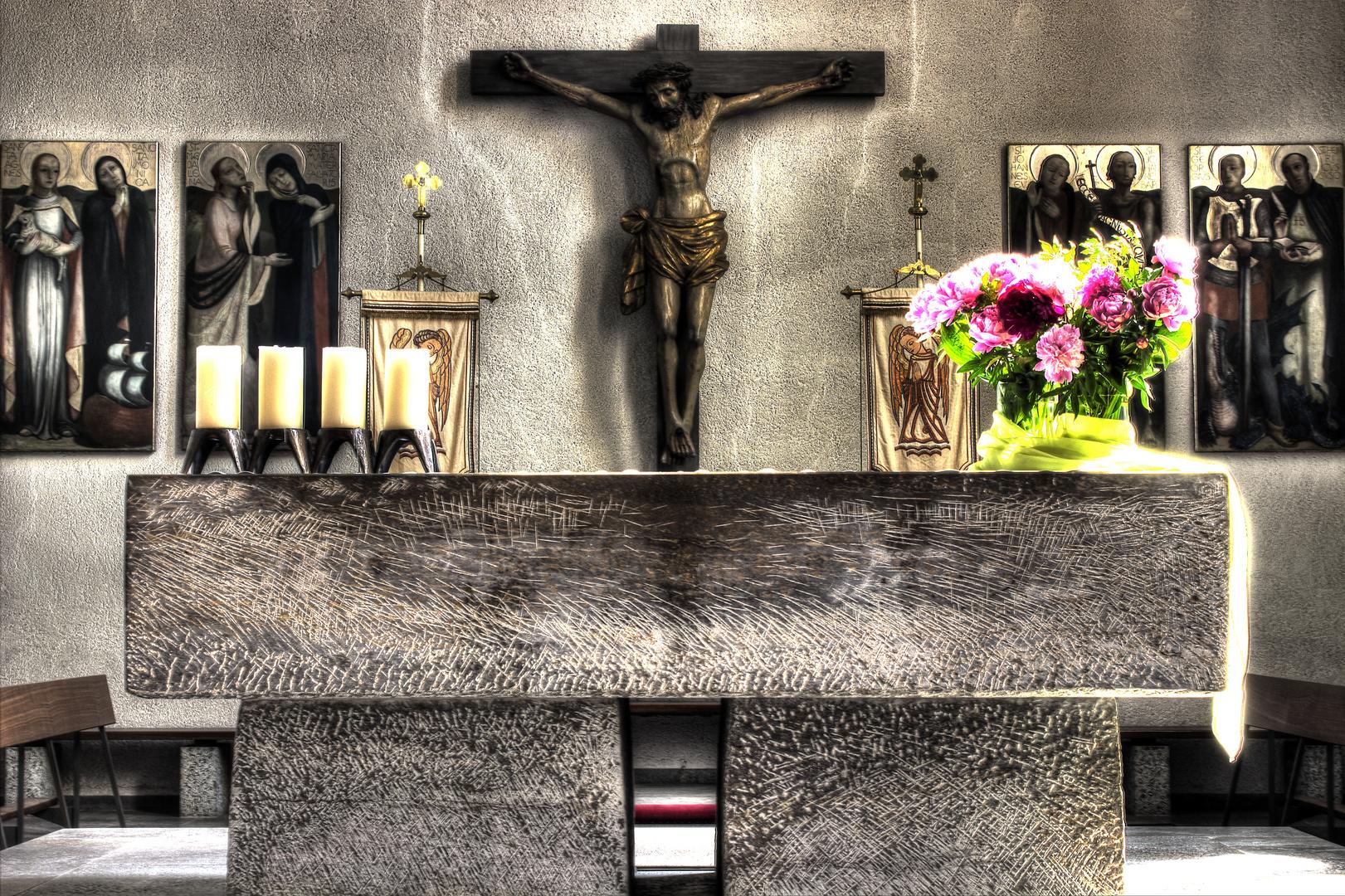 St. Georg Kirche Altar