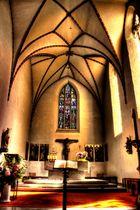 St. Georg Kirche Altar Weitblick