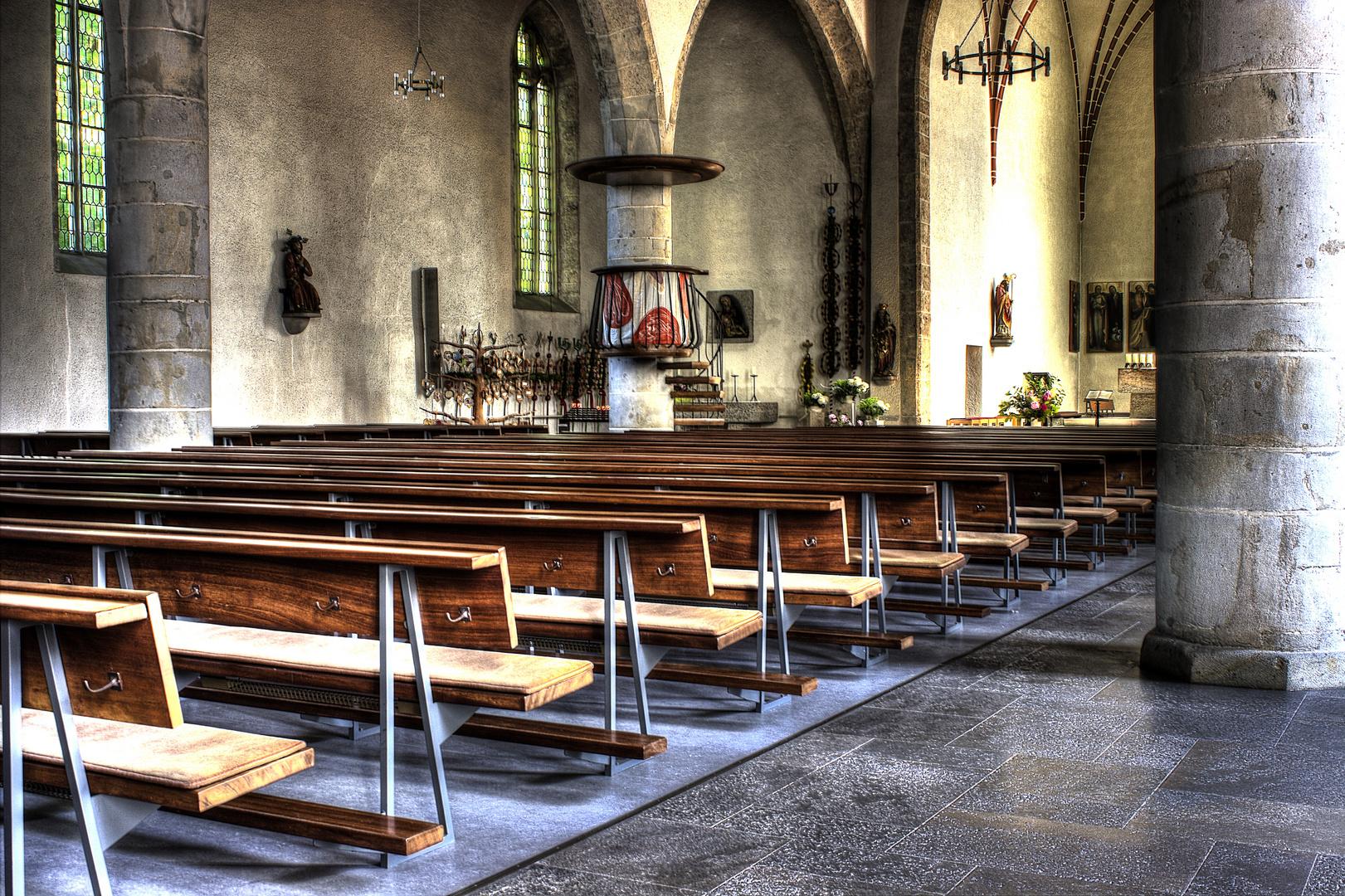 St. Georg Kirche - Bankansicht