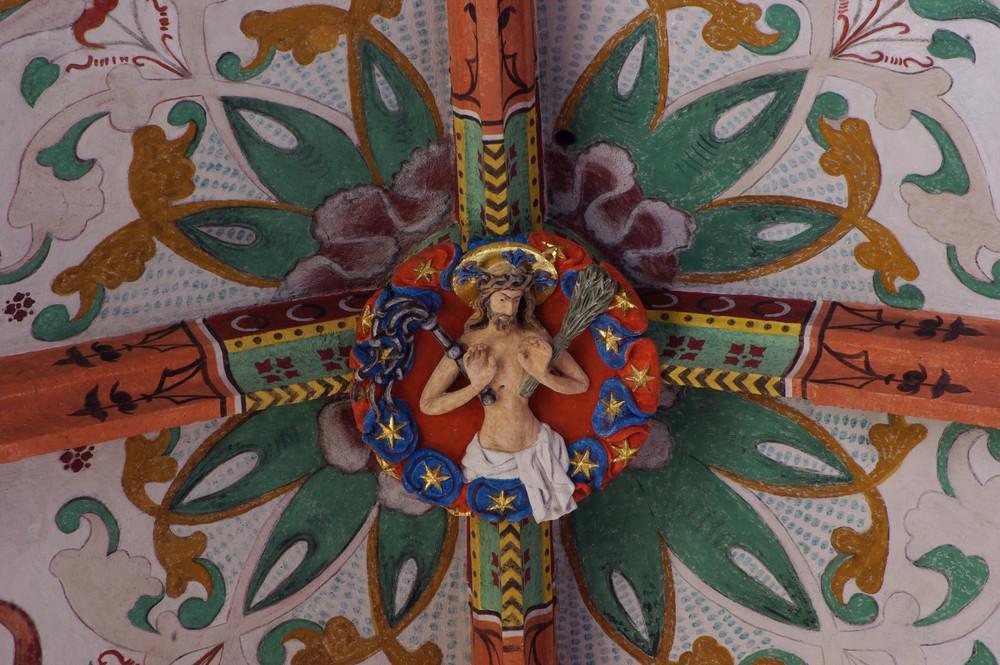 St. Georg Kirche Niederwerth / Rhein (Schlussstein)