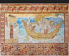 St. Georg - Oberzell - Insel  Reichenau - Fresken - Ausschnitt
