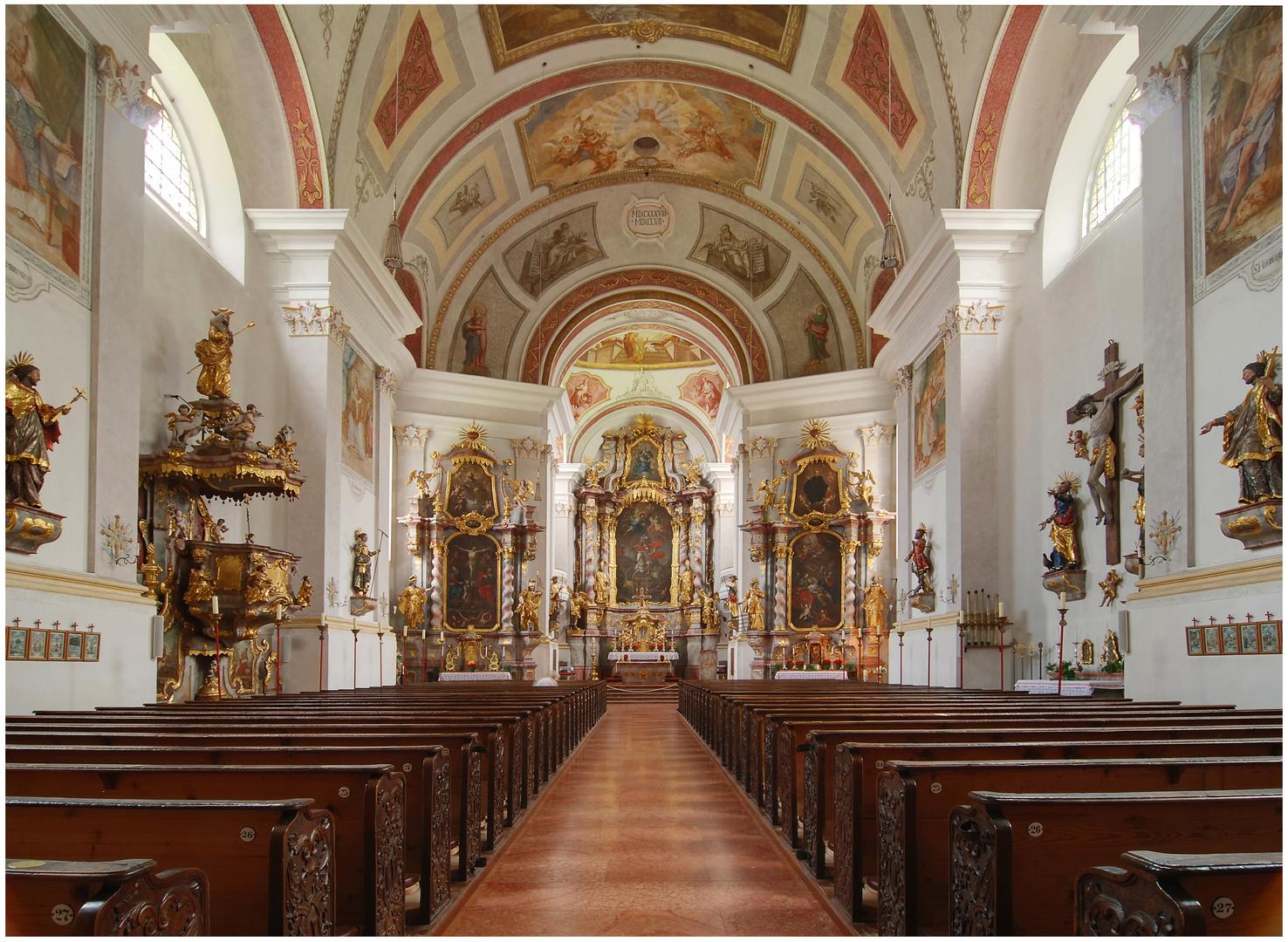 St. Georg - Pfarrkirche in Ruhpolding