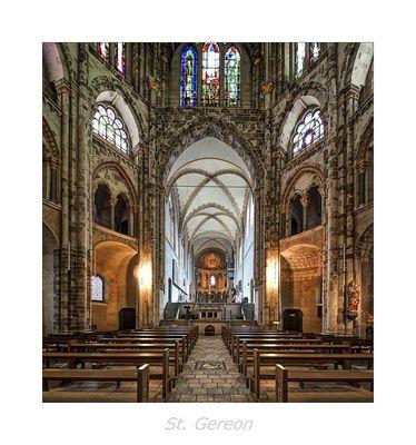 """St. Gereon - Köln """" Blick in den Langchor, aus meiner Sicht..."""""""