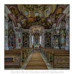 """St. Gordian und St. Epimachus (Stöttwang) """" Gott zu Gefallen..."""""""