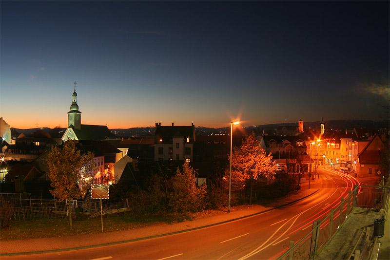 St. Ingbert am Abend