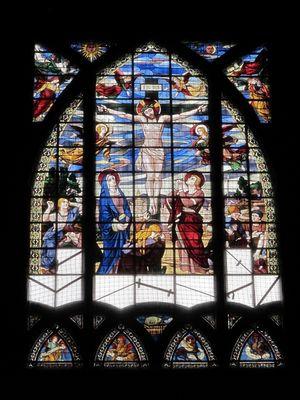 St-Jean de Montmartre, Apsisfenster von Léon Tournel