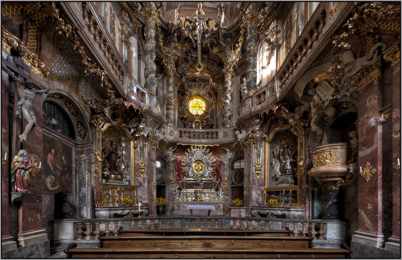 St. Johann Nepomuk-Asamkirche München.