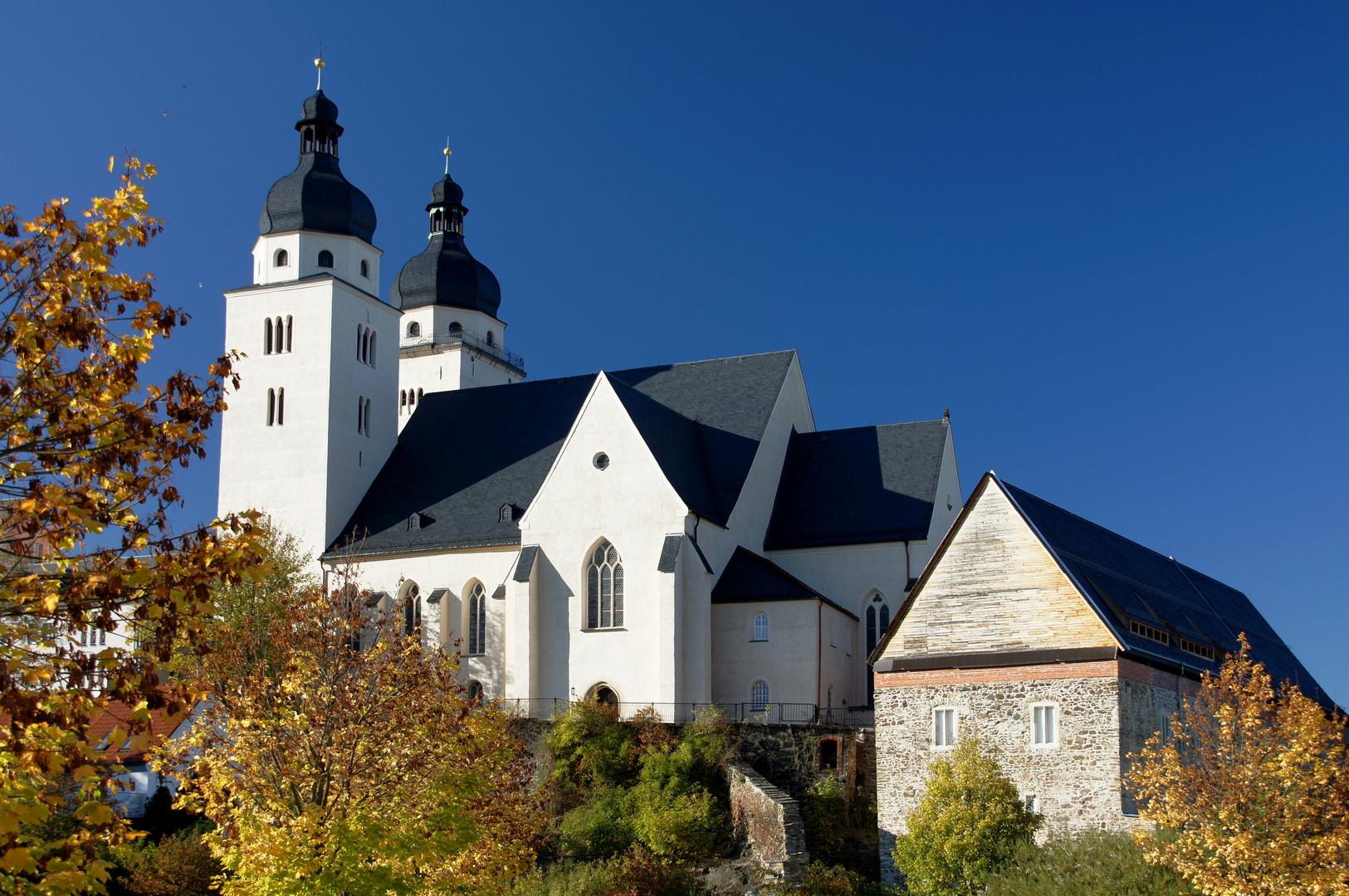 St. Johanniskirche und Komturhof - älteste Gebäude der Stadt Plauen