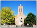 St. John the Baptist Catholic Church im San Juan Pueblo - New Mexico - USA