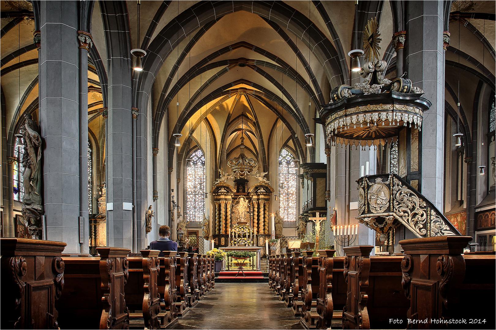 St. Lambertus zu Düsseldorf ....