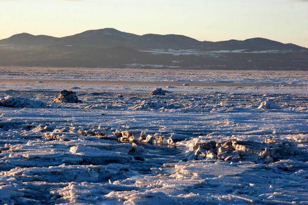St-Laurent sous les glaces