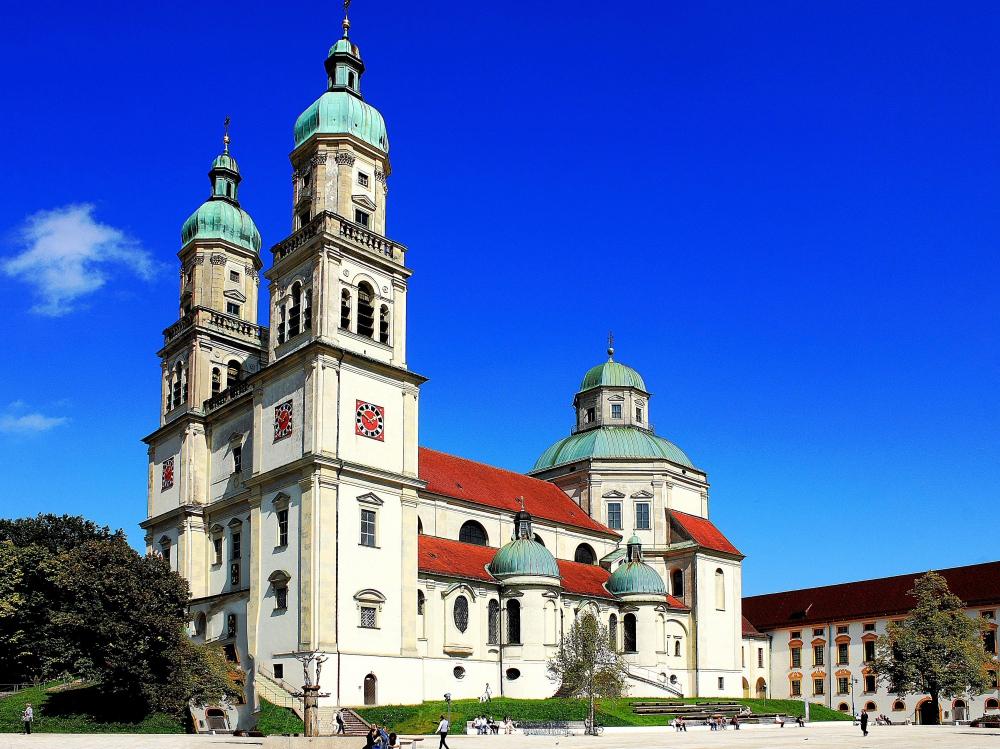 St. Lorenz in Kempten Allgäu
