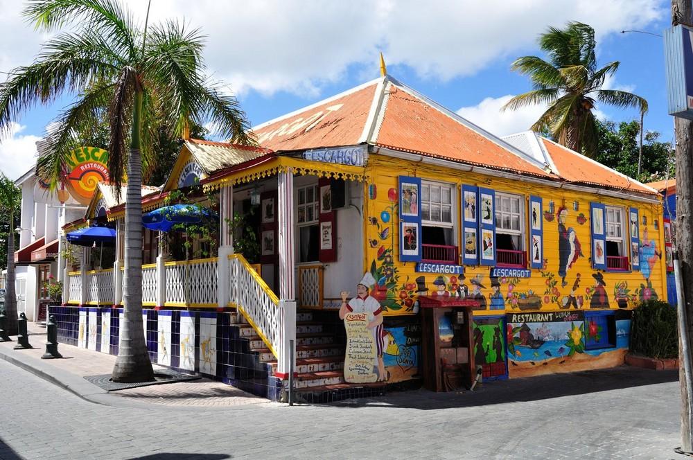 St. Maarten - Philipsburg Restaurant Les Cargot