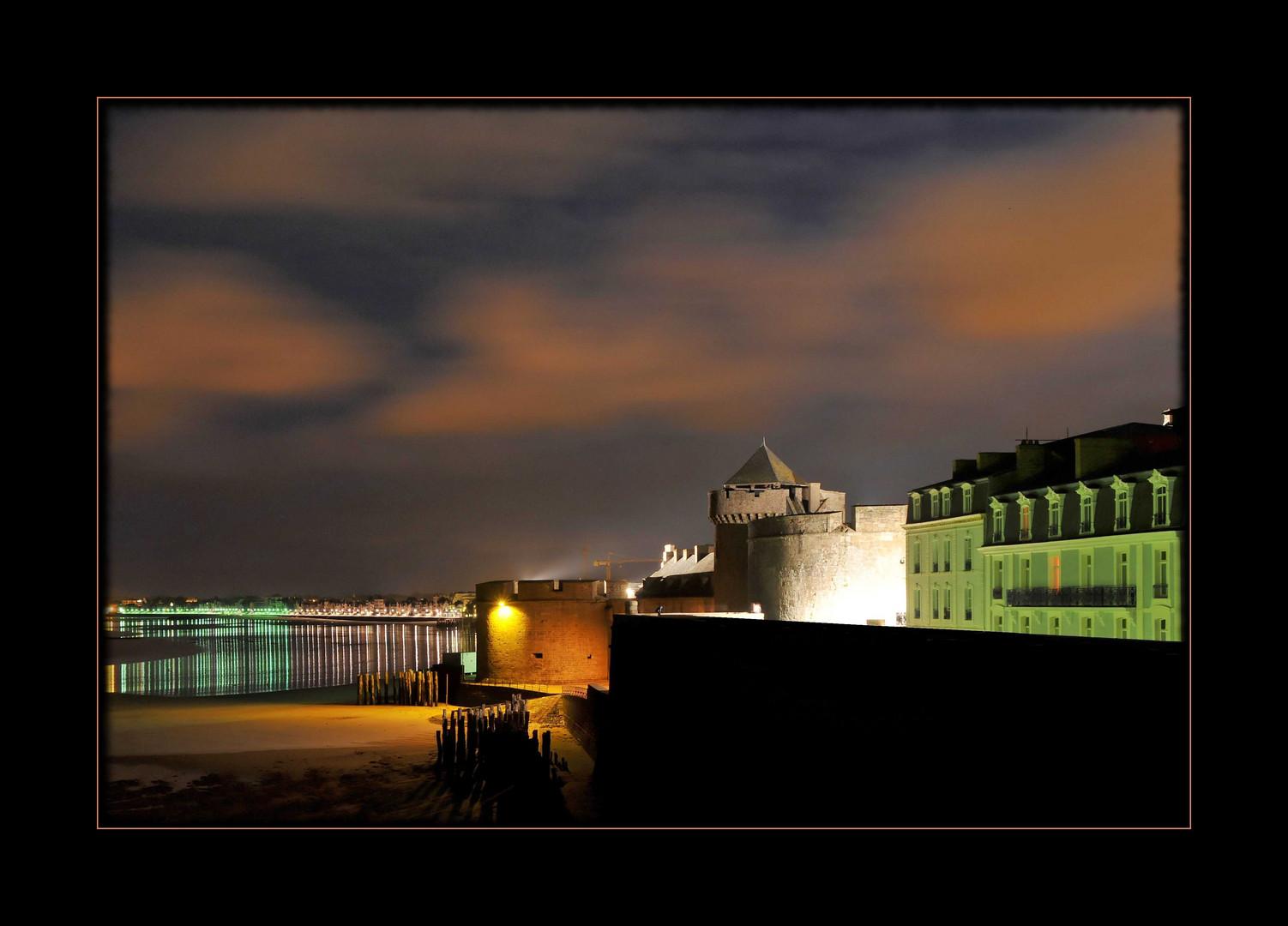 St. Malo - Bretagne by night
