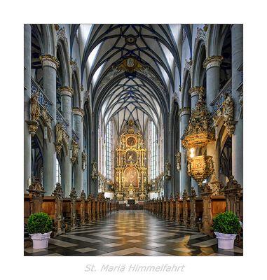 "St. Mariä Himmelfahrt (Köln) "" Blick zum Hochaltar..."""