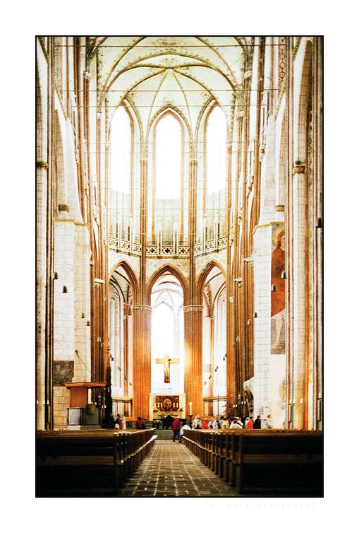 St. Marien - gecrosst