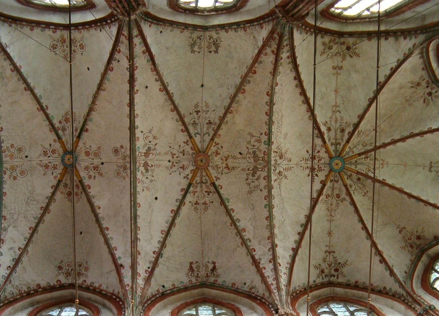 St. Marien, Kirchenschiffdecke