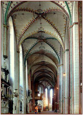 St. Marien zu Lübeck - Seitenschiff