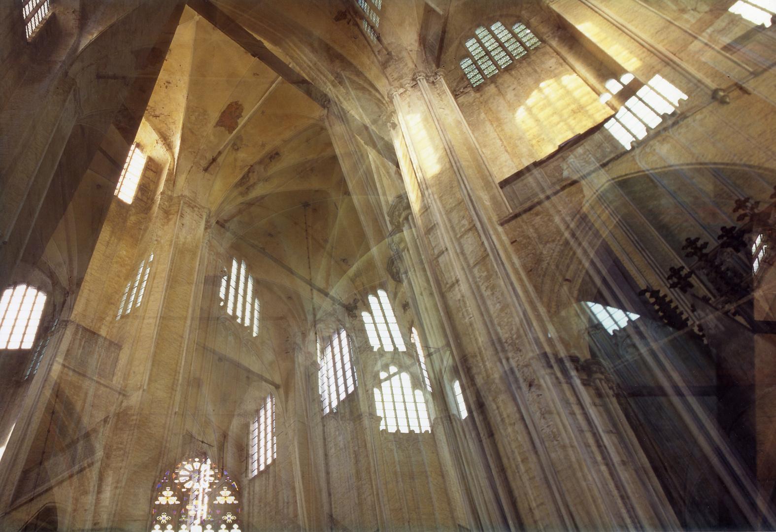 St. Marien zu Stralsund - eine weitere Mehrfachbelichtung
