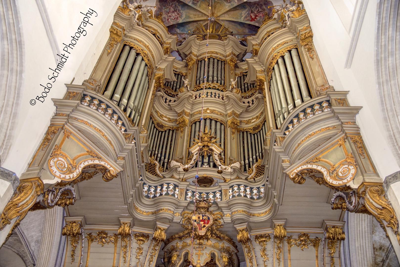 St. Marienkirche in Rostock (Heinrich Glowatz Orgel)